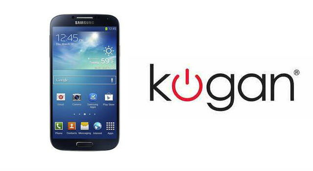Kogan opens waiting list for the Samsung Galaxy S 4