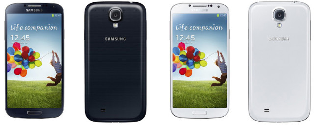 Galaxy S 4 Carrier information