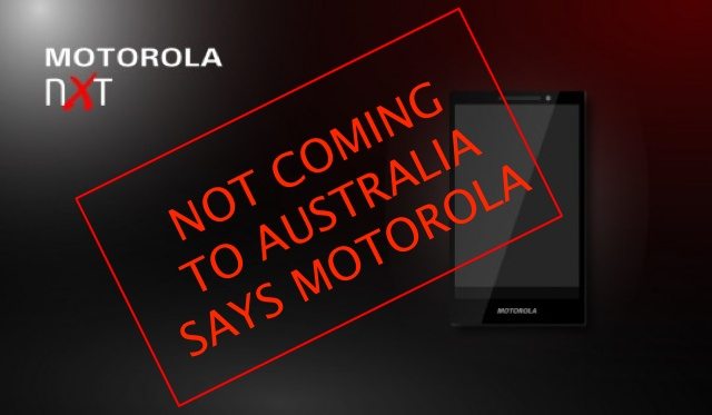 Motorola X won't be coming to Australia — Motorola source