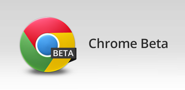 Beta Channel for Chrome OS updated