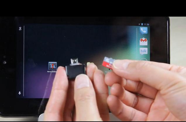 MicroSDreader