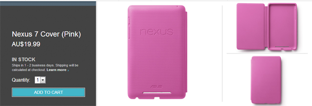 Nexus 7 Travel Cover - In Stock