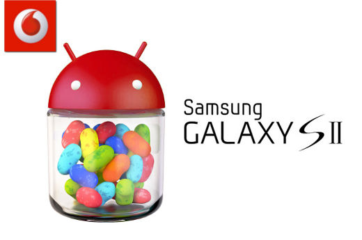 Vodafone to begin rollout of Jelly Bean to Samsung Galaxy S II tomorrow