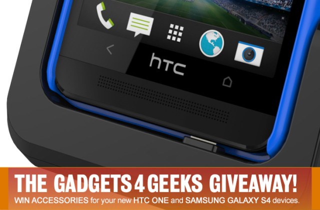 Win the ultimate gadget for your HTC One or Samsung Galaxy S4 Smartphone!
