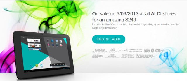 Aldi - Bauhn 10 inch tablet 5th June