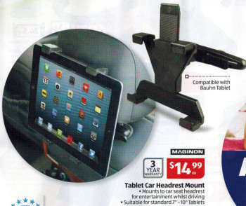 Car Headrest Mount