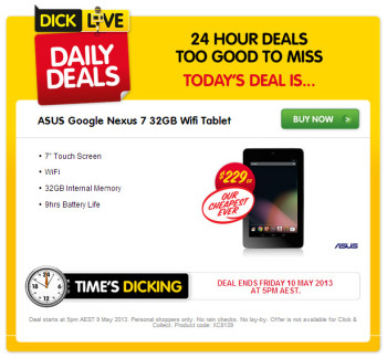 Grab a Nexus 7 Deal!