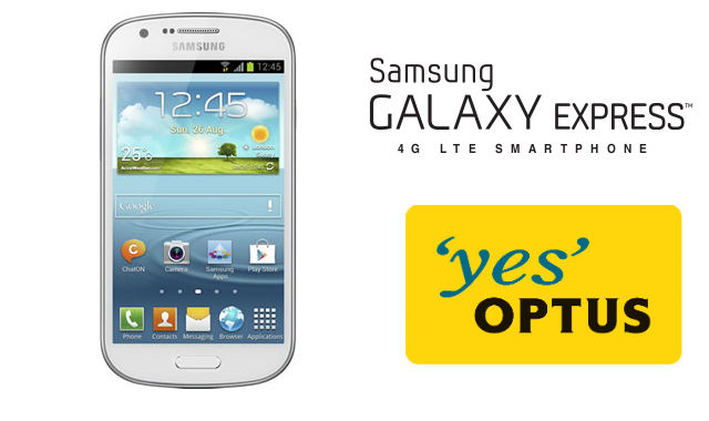 Optus launching Samsung Galaxy Express on Monday June 3rd