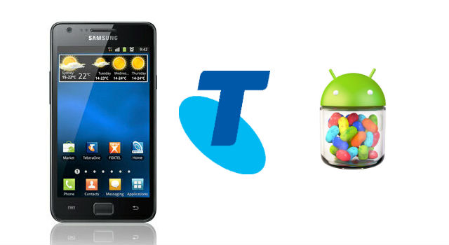 Telstra now rolling out Jelly Bean update for Samsung Galaxy S2