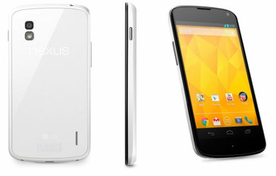 White Nexus 4 will be sold exclusively in Australia through Harvey Norman from June 6