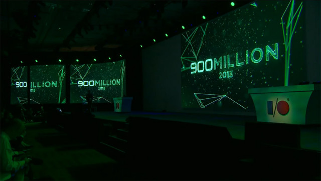 Android hits 900 million activations worldwide