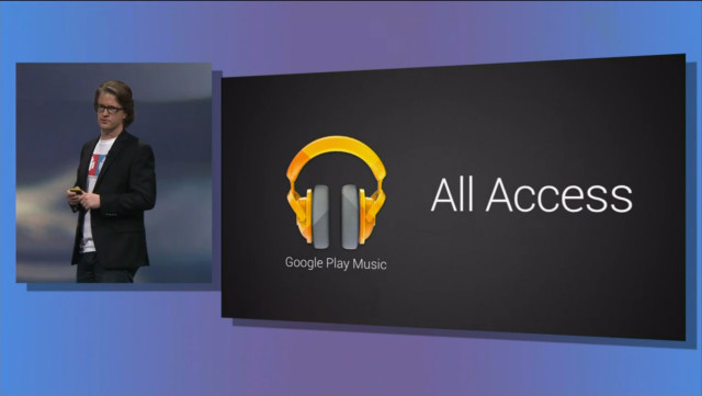 Google Music All Access: music subscription service with personalised 'radio stations'