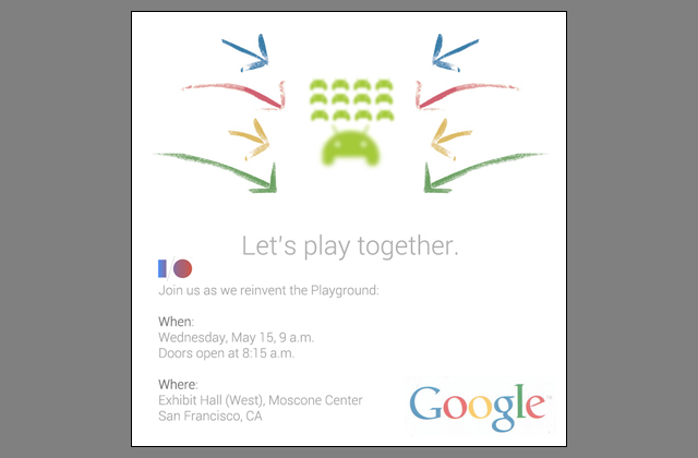 "Google is going to ""reinvent the playground"" at Google I/O"