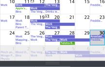 LG Calendar App