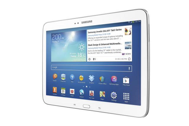 Samsung Galaxy Tab 3 10.1 Wi-Fi receving KitKat