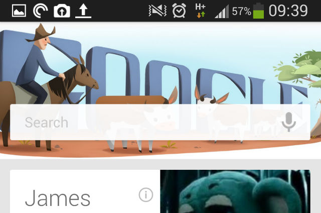Google Doodles now live in Google Now