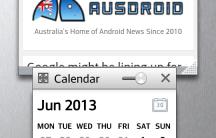 QSlide 2 - Internet and Calendar