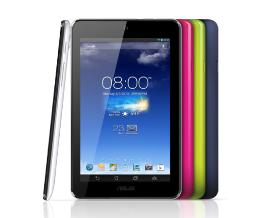 ASUS at Computex 2013: MemoPad HD 7 — A Nexus 7 with a rear camera, vibrant colours