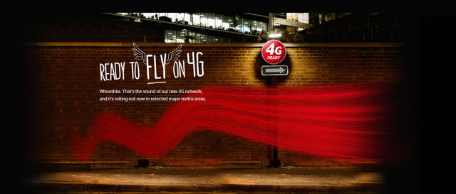 Vodafone flips the switch on 4G for new customers