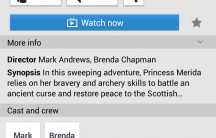 Movie listings - apparently Brave is 'Sci Fi'.