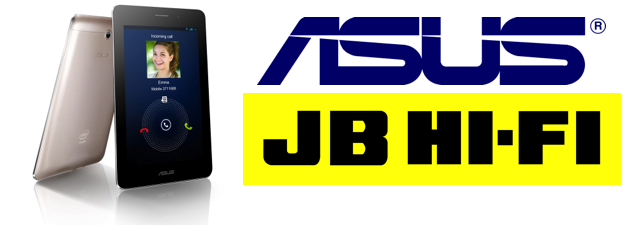 JB HiFi selling the Asus FonePad 3G for $298