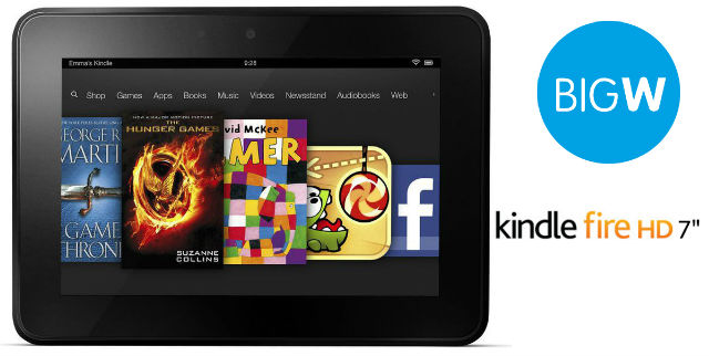 Big W selling Kindle Fire HD 7″ for $199
