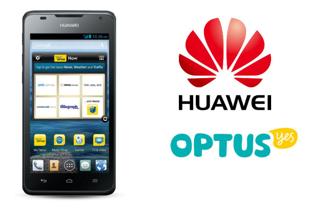 Optus add the Huawei Ascend G510 to their Pre-Paid range