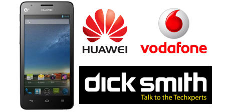 Dick Smith Selling the Huawei Ascend G526 4G ready phone on the Vodafone Network