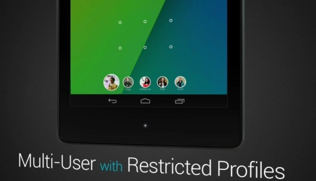 Multi-User Restricted Profiles