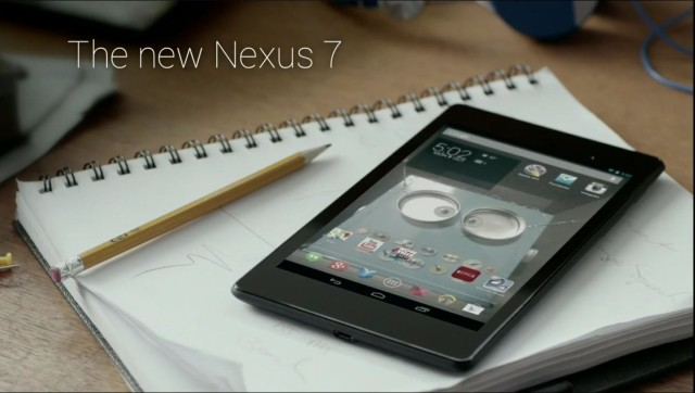 New Nexus 7 announced – available to order from Google Play Tuesday July 30th