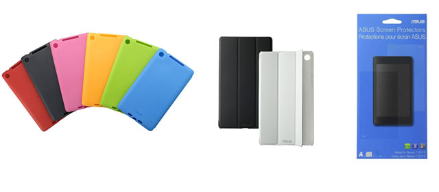 Nexus 7(2013) accessories start appearing – Travel Case, Premium Cover and Screen Protectors
