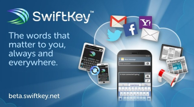 Swiftkey offering online backup and more with Swiftkey Cloud