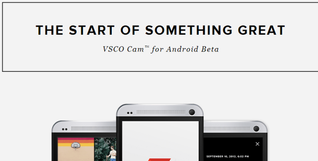 VSCO Cam arriving on Android December 3rd(US Time)