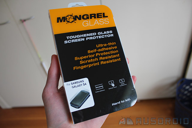 Accessory Review: Mongrel Glass – Galaxy S4 Screen Protector