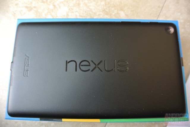 New Nexus 7 benchmarked and hardware specs revealed
