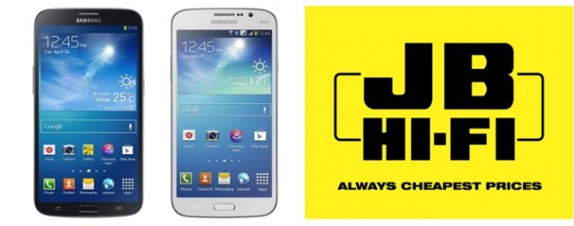 Samsung Galaxy Mega 6.3″ now available at JB HiFi