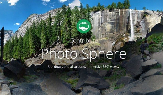 Google going all in on Photo Sphere