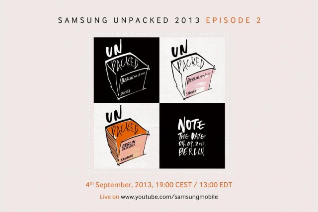 Invites now arriving for Samsung Unpacked 2013 – Episode 2