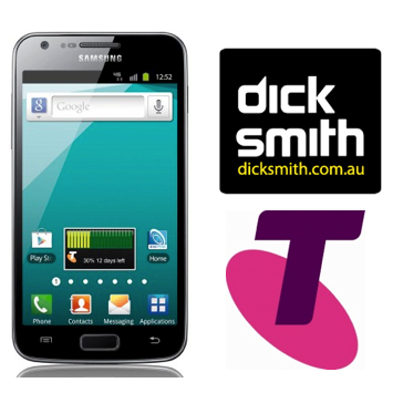Dick Smith selling the Samsung Galaxy S2 4G on Telstra Pre-Paid for $349