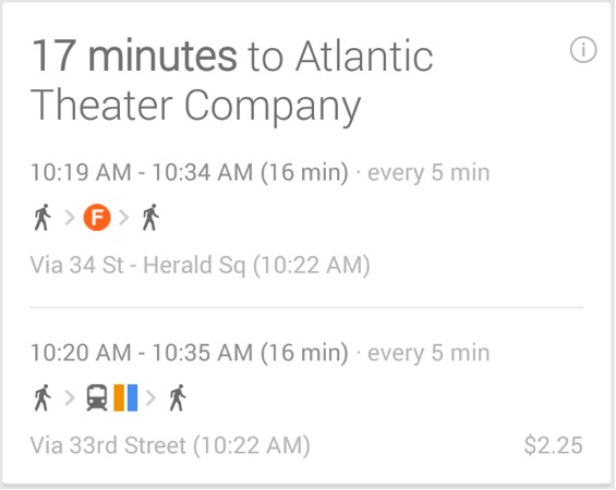 Google Now updated to provide car rentals, concert tickets and more