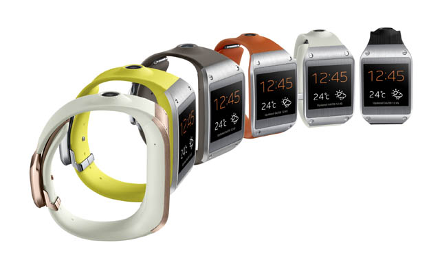 Original Samsung Galaxy Gear Smartwatch being being updated to Tizen