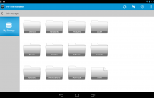 Slatebook X2 - File Manager