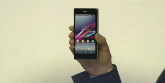 Sony Xperia Z1 officially announced – 20.7MP Camera with 'G' Lens