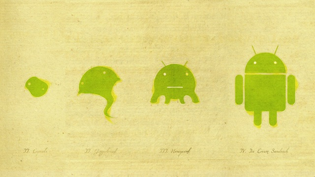 A walk through Android's six year history