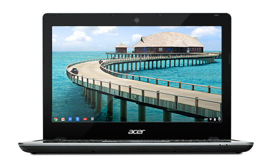 Acer announces the Acer C720 Haswell based Chromebook in the US