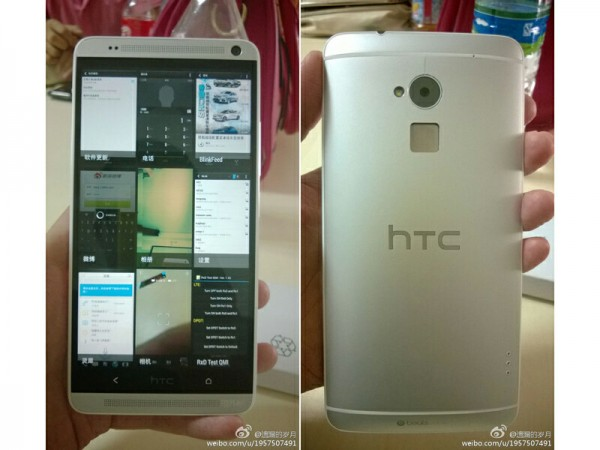HTC One Max pictured and specs leaked