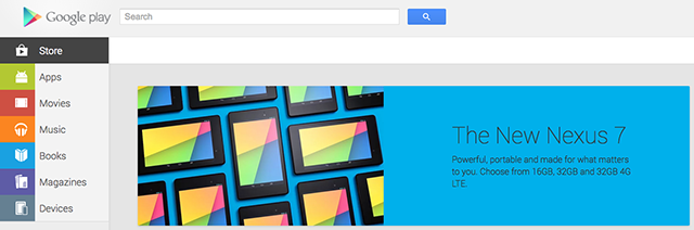 Nexus 7 (2013) finally lands on the Play Store for Australia