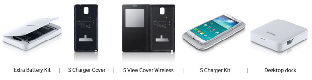 Samsung list the available Note 3 accessories