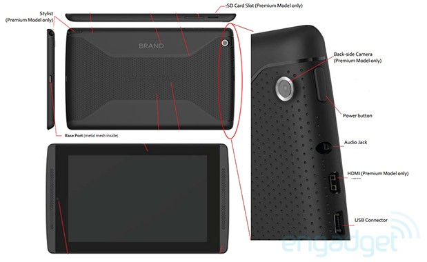 NVIDIA Tegra Tab Coming with Tegra 4 chip and a stylus all in a 7″ display