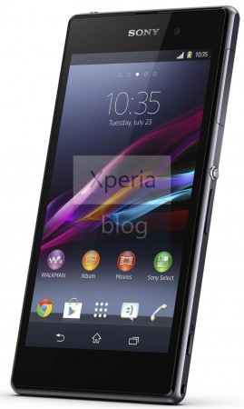 Sony Xperia Z1 specs released via leaked press release